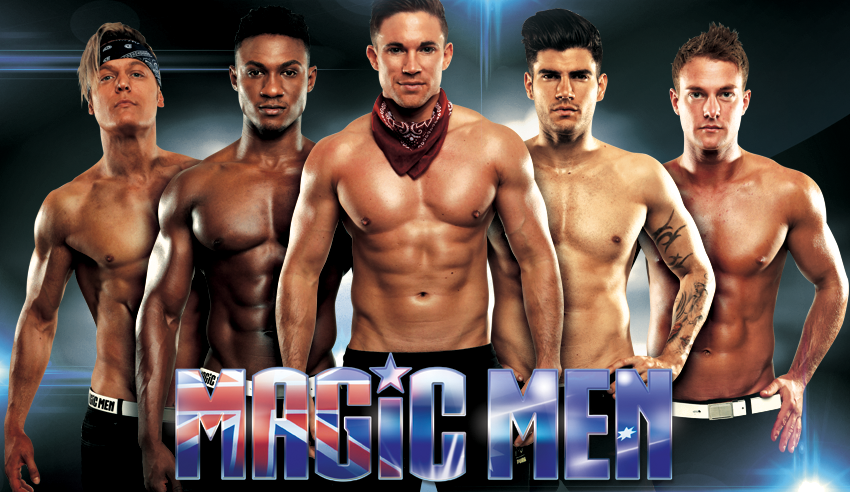 Find tickets from MAGIC MEN MELBOURNE