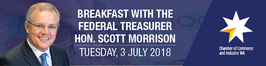 Tickets for Breakfast with the Treasurer in Perth from Ticketbooth