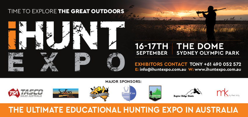 Tickets for iHunt Expo in Sydney Olympic Park from Ticketbooth