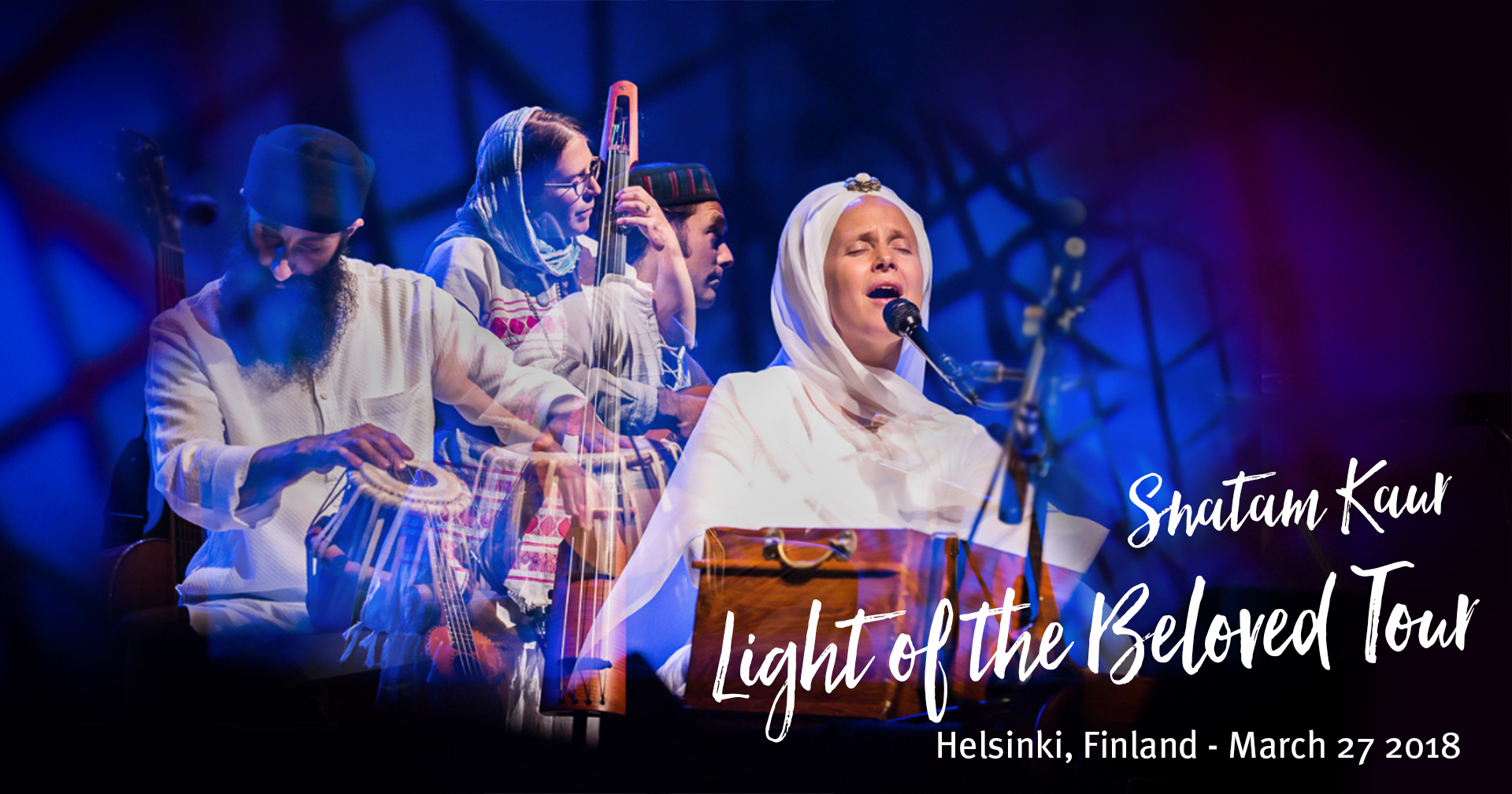 Tickets for Snatam Kaur Light of the Beloved Tour in HELSINKI from BrightStar Live Events