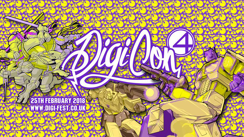Tickets for Digi-Con 4 in Doncaster from Ticketbooth Europe