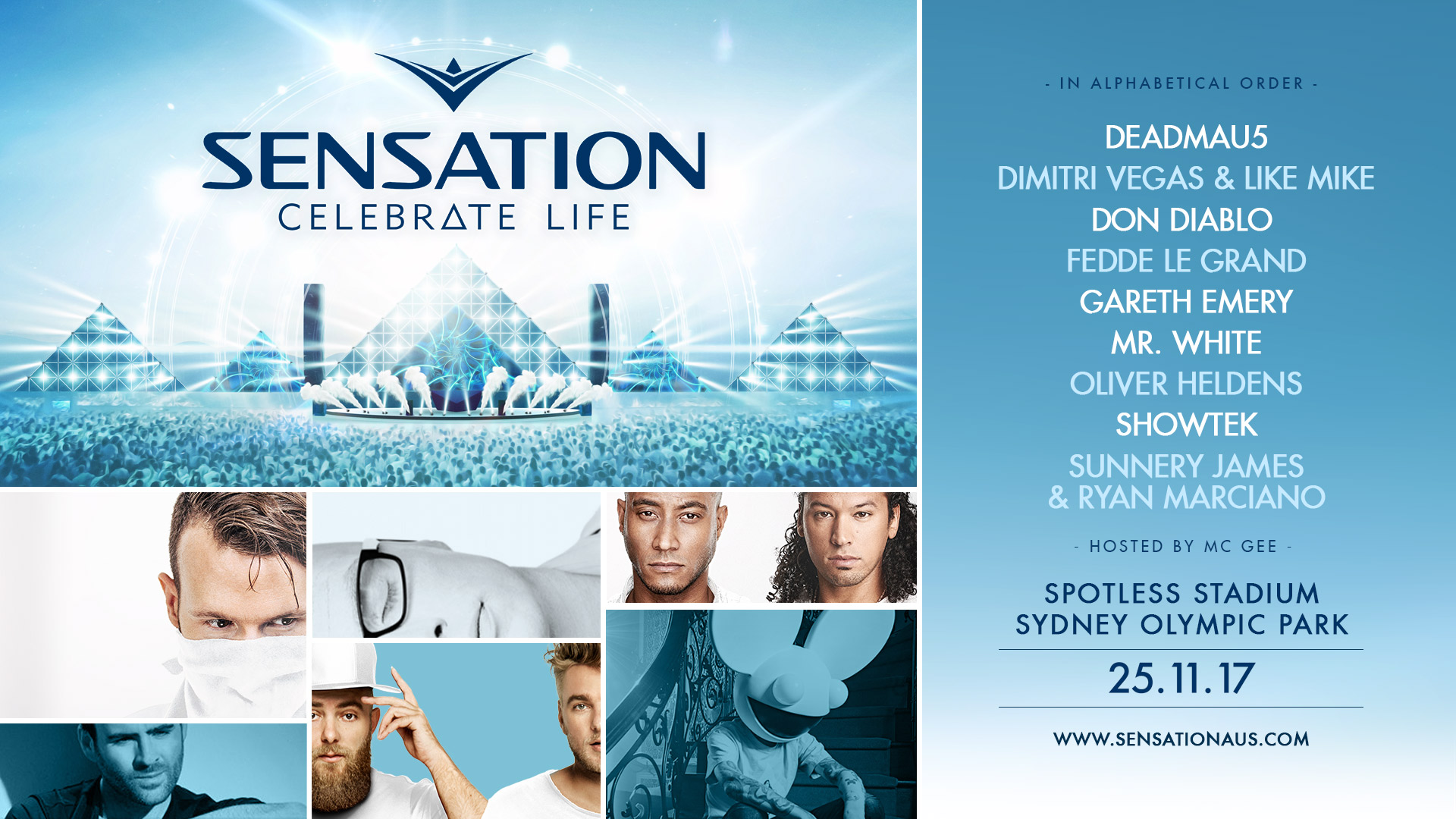 Tickets for Sensation 'Celebrate Life' Australia 2017 in Sydney Olympic Park from Ticketbooth