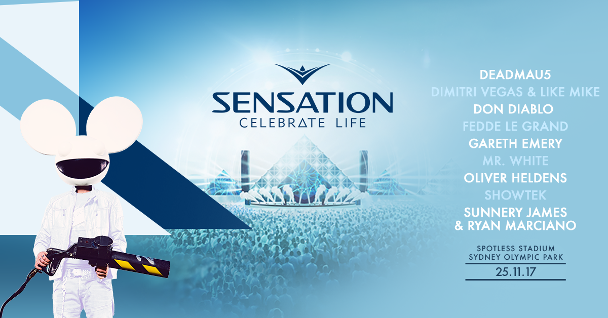 Find tickets from Sensation Australia