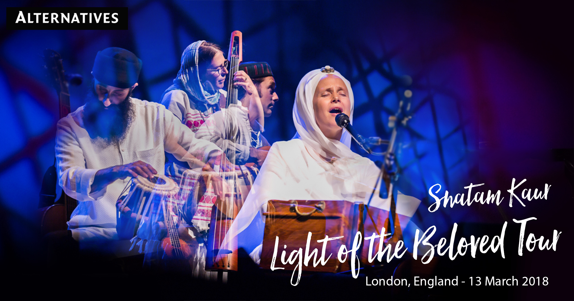 Tickets for Snatam Kaur's Light of the Beloved Tour in London from BrightStar Live Events