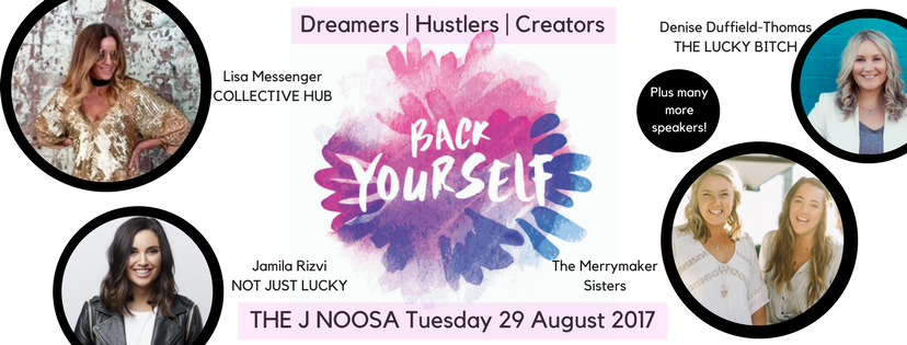 Tickets for Back Yourself in Noosa Heads from Ticketbooth