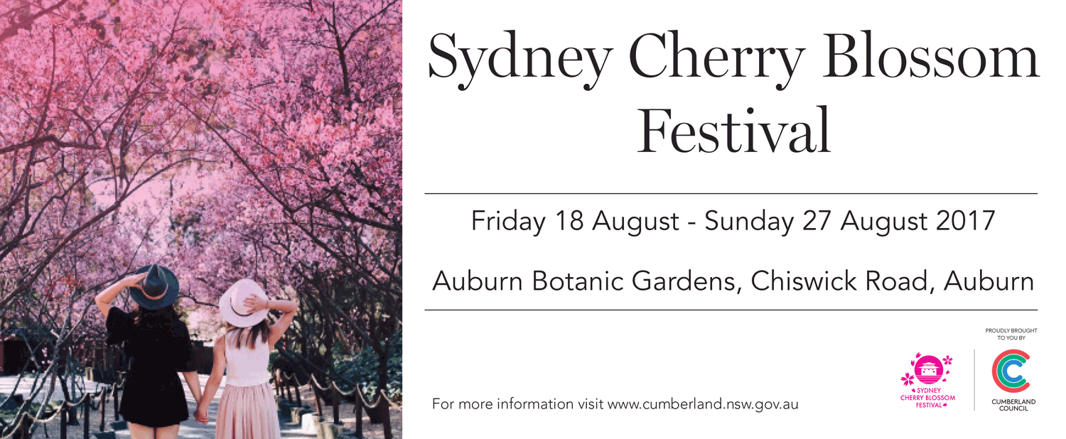 Tickets for Sydney Cherry Blossom Festival in Auburn from Ticketbooth
