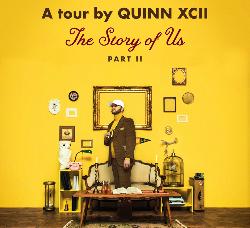 Tickets for Quinn XCII VIP at The Waiting Room Lounge in Omaha from Artist Arena