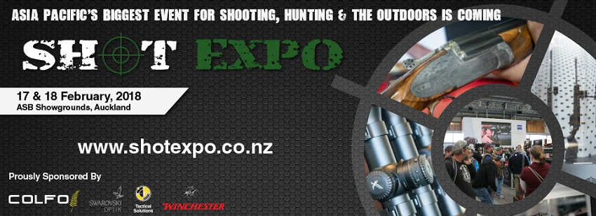 Tickets for SHOT Expo in Greenlane from Ticketbooth New Zealand