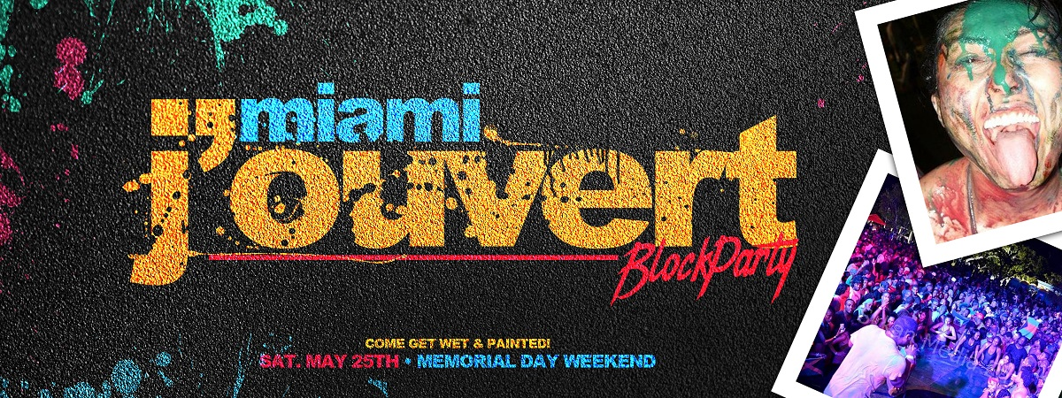 Tickets for Miami Jouvert - Color Rain Festival of Paint in Miami from ShowClix