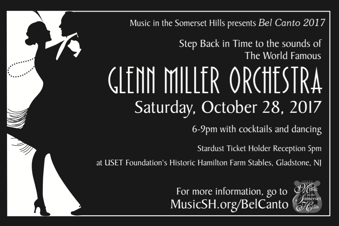 Tickets for Bel Canto - The Glenn Miller Orchestra in Gladstone from ShowClix