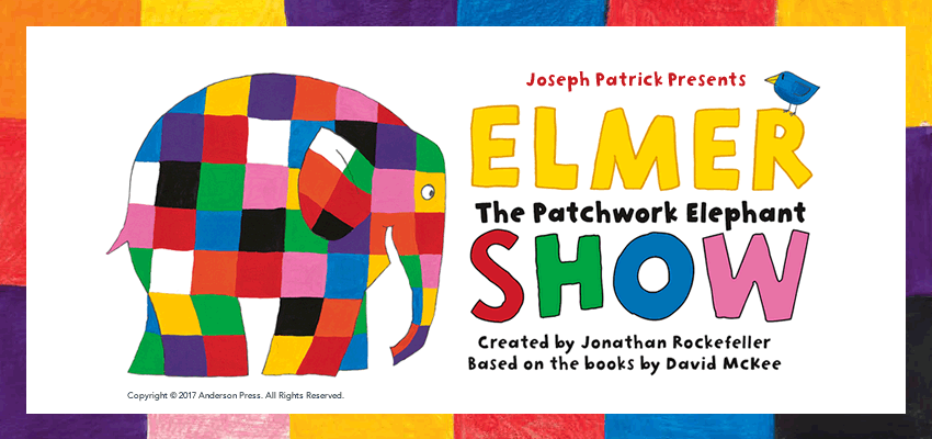 Tickets for Elmer The Patchwork Elephant Show in Toronto from Ticketwise