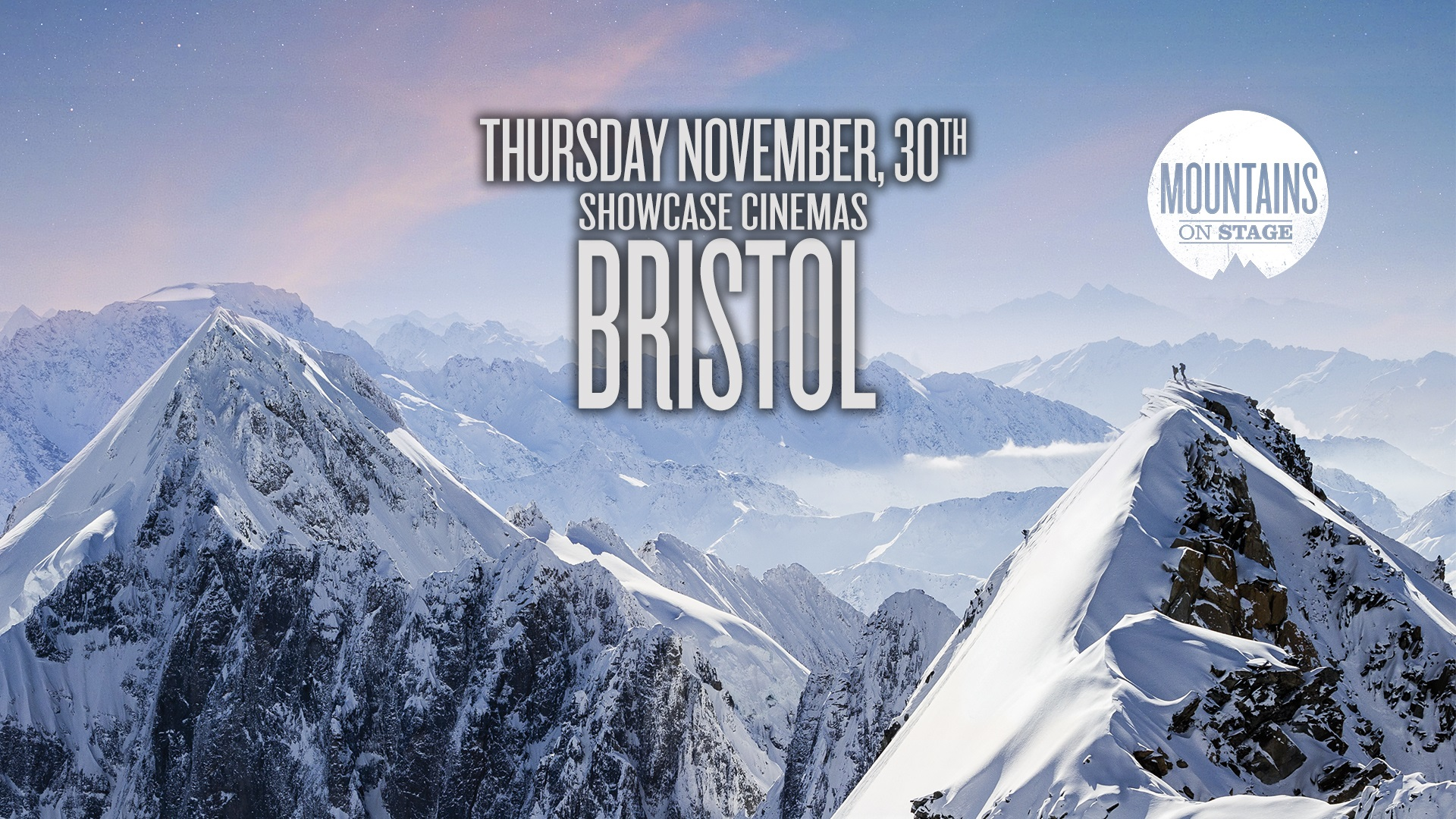 Tickets for Mountains on Stage - BRISTOL in Bristol from Ticketbooth Europe