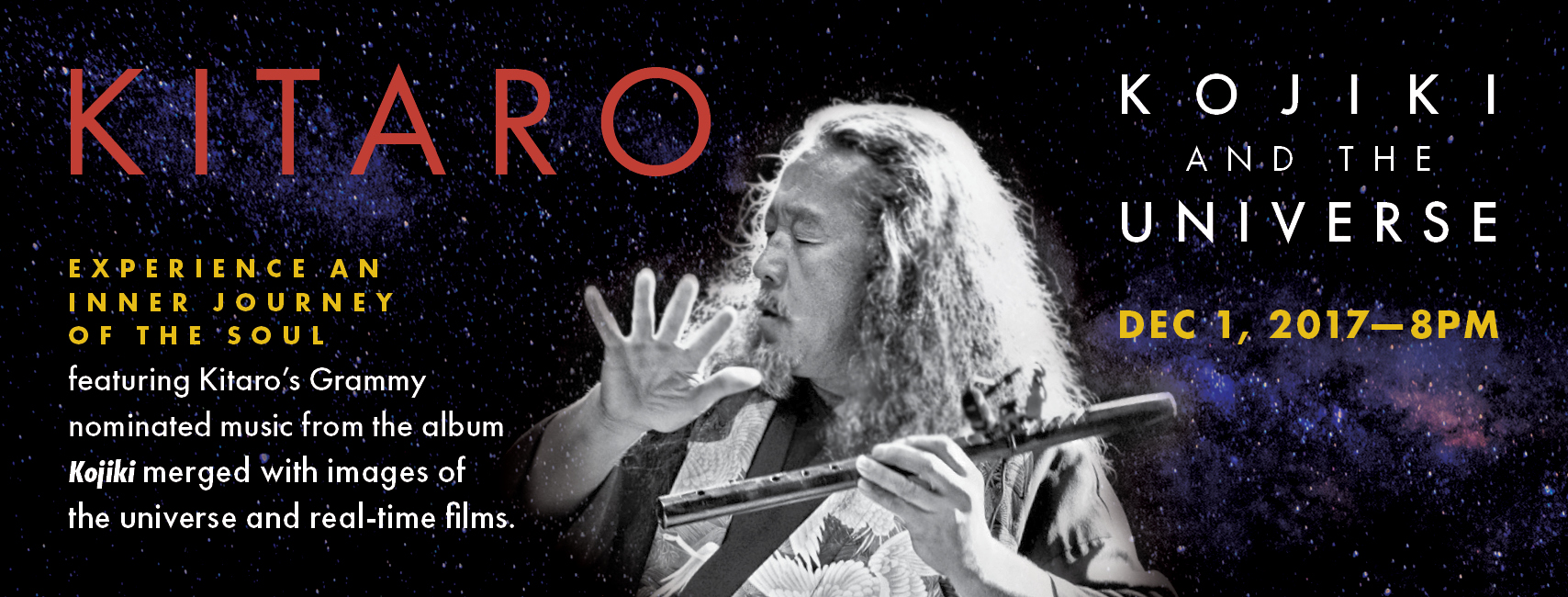 "Tickets for Kitaro ""Kojiki & The Universe"" in Seattle from BrightStar Live Events"