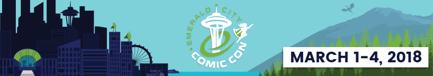 Application for Emerald City Comic Con 2018 Pro Registration in Seattle from ShowClix