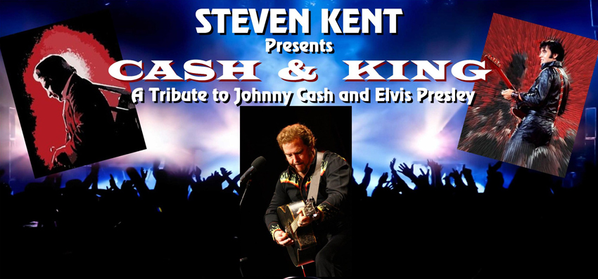 Tickets for CASH & KING -  STEVEN KENT in Healdsburg from ALIST Solutions LLC