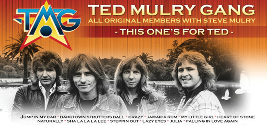 Tickets for Ted Mulry Gang in North Geelong from Ticketbooth
