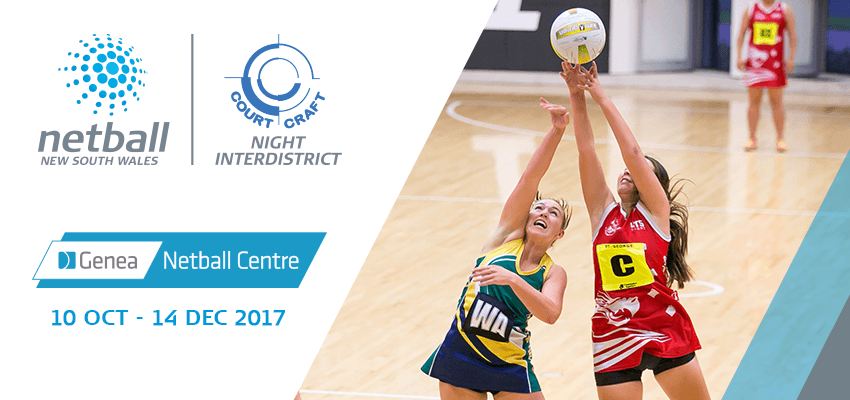 Tickets for Court Craft Night Interdistrict Netball Competition - Wednesday Night Season Pass in Sydney Olympic Park from Ticketbooth
