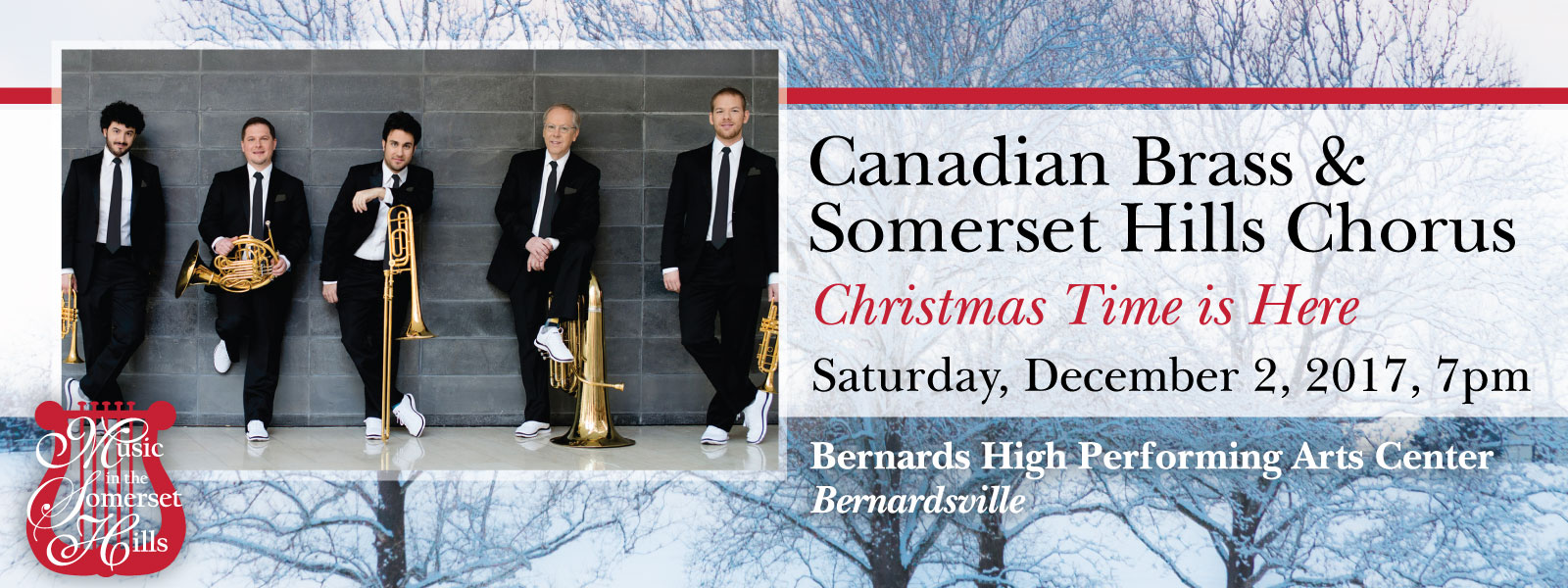 Tickets for Canadian Brass: Christmas Time Is Here in Bernardsville from ShowClix