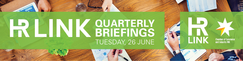 Tickets for HR Link Quarterly Briefing in East Perth from Ticketbooth