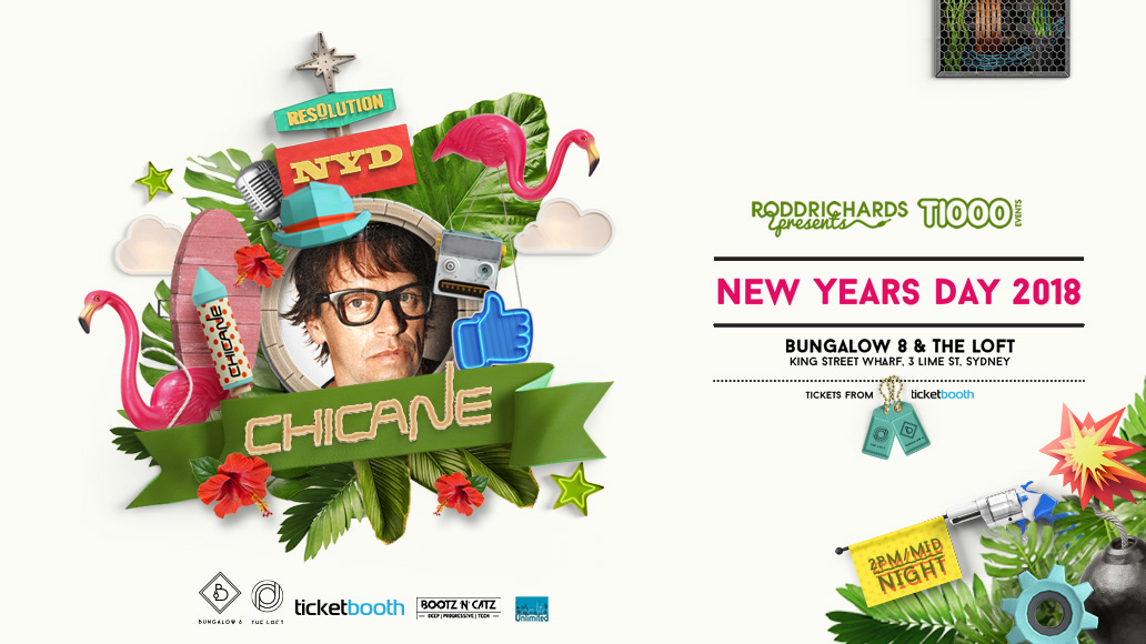 Tickets for RESOLUTION NYD 2018 ft. CHICANE in Sydney from Ticketbooth