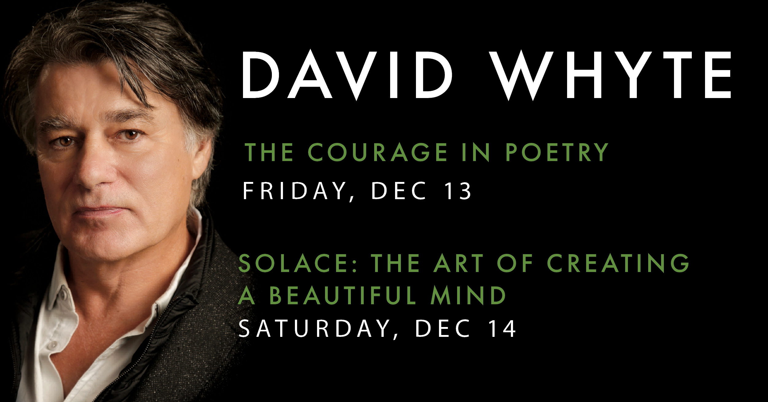 Tickets for An Evening with David Whyte - Solace in Seattle from BrightStar Live Events
