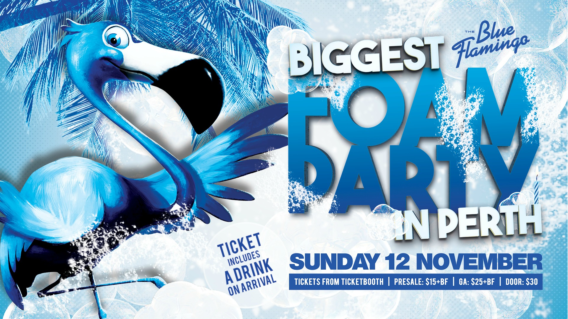 Tickets for Biggest FOAM PARTY in Perth in Leederville from Ticketbooth