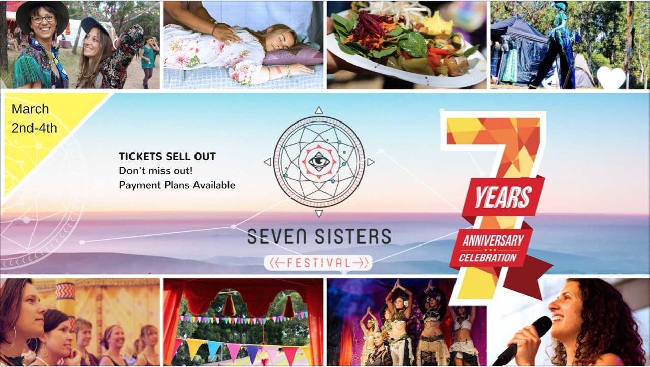 Tickets for Seven Sisters Festival 2018 in Mt Martha from Ticketbooth