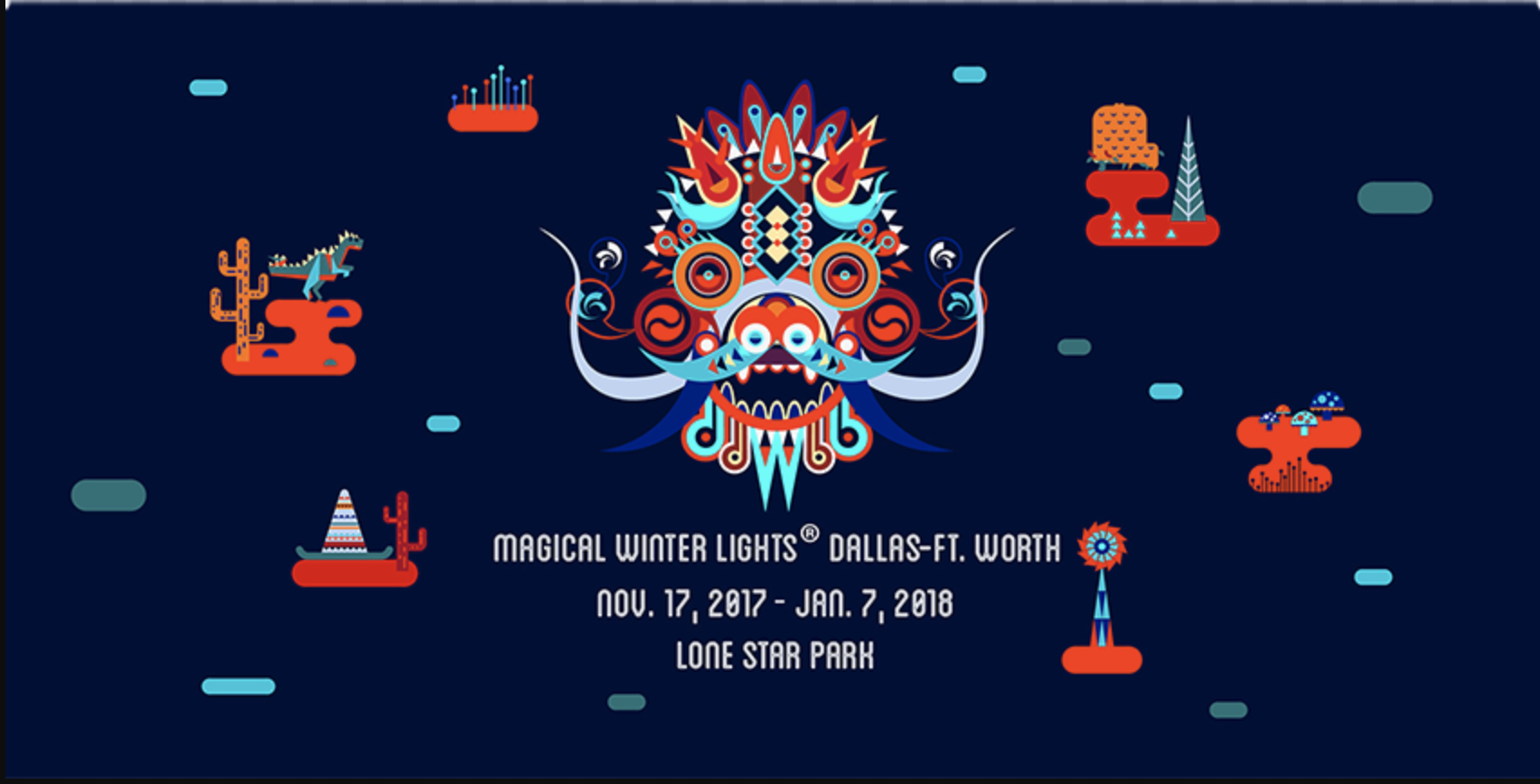 tickets for magical winter lights 2017 dallas fort worth in grand prairie from showclix