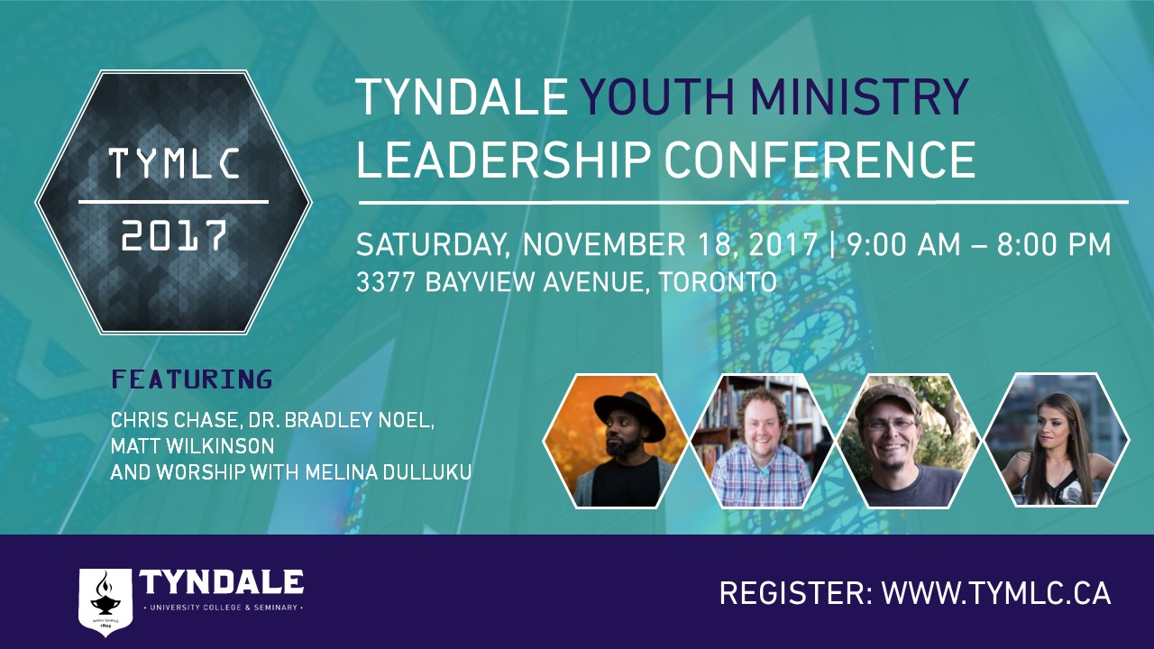 Tickets for Tyndale Youth Ministry Leadership Conference in Toronto from BuzzTix