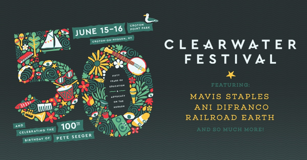 Find tickets from Clearwater Festival