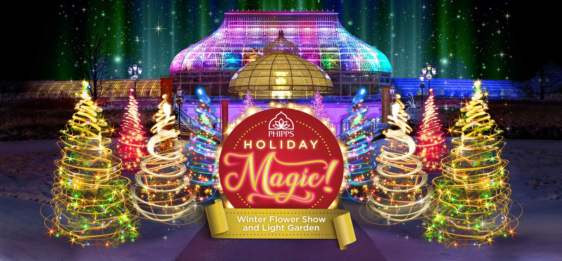 Tickets for Phipps Holiday Magic! in Pittsburgh from ShowClix