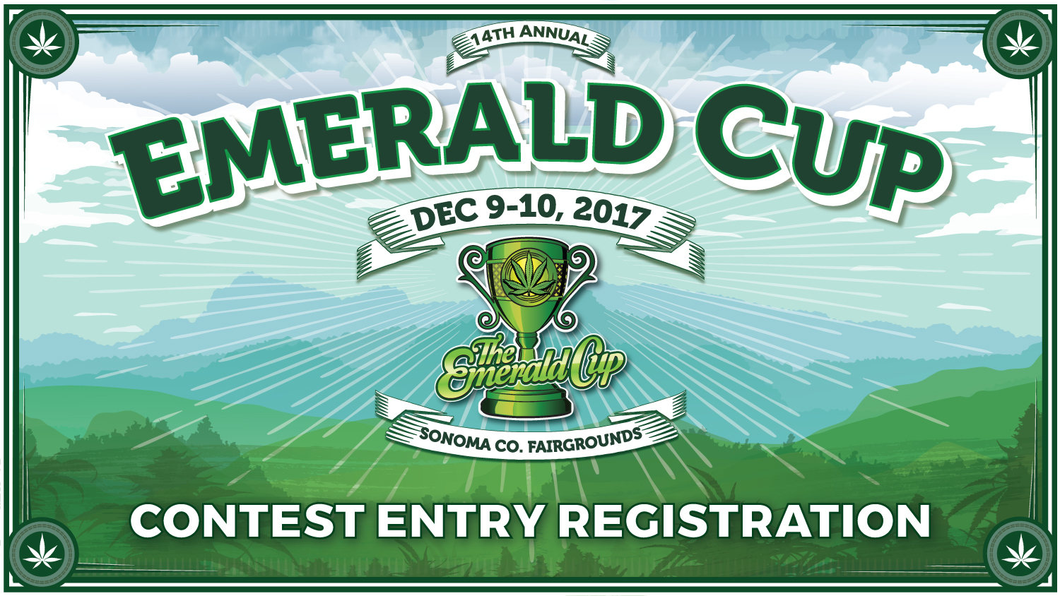Tickets for 2017 Emerald Cup Contest Entry-Not an Event Ticket in Santa Rosa from ShowClix
