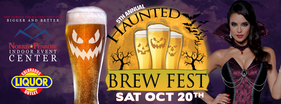 Tickets for Haunted Brew Fest in Colorado Springs from BeerFests.com