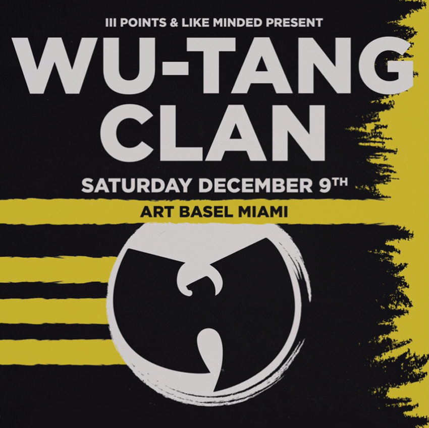 Tickets for Wu-Tang Clan Miami, FL | December 9th, 2017 in Miami from ShowClix
