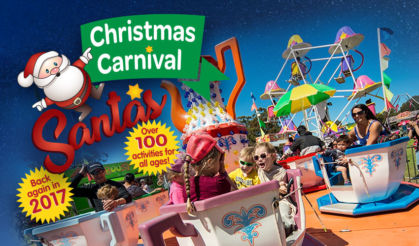 Tickets for Santa's Christmas Carnival in Claremont from Ticketbooth