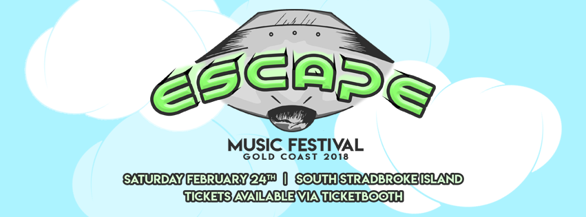 Tickets for Escape Music Festival 2018 in South Stradbroke island from Ticketbooth