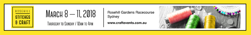 Tickets for Rosehill Stitches & Craft in SYDNEY from Ticketbooth
