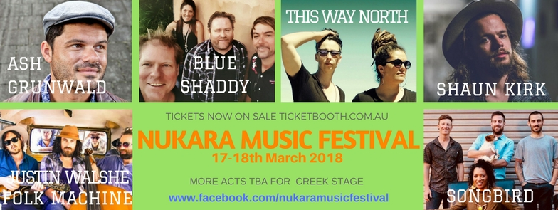 Tickets for Nukara Music Festival 2018 in Nanson from Ticketbooth