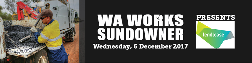Tickets for WA Works Sundowner - Lendlease in East Perth from Ticketbooth