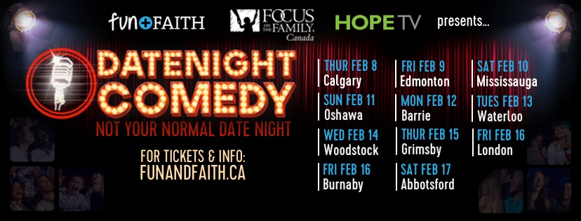 Tickets for DATE NIGHT COMEDY TOUR in Oshawa from BuzzTix