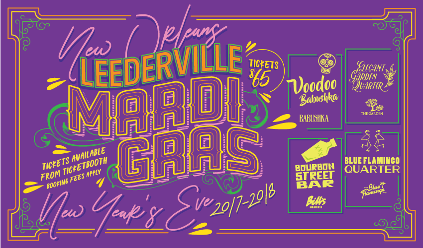 Tickets for New Year's Eve Leederville Mardi Gras in Leederville from Ticketbooth