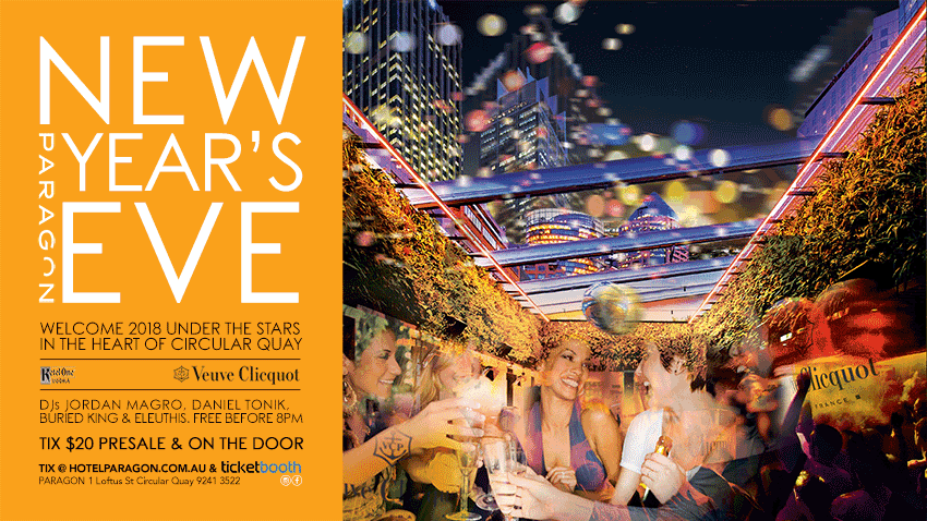 Tickets for NYE 2017 - Paragon in CIRCULAR QUAY from Ticketbooth