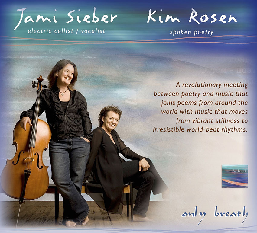 "Tickets for Jami Sieber & Kim Rosen ""Only Breath"" in Novato from BrightStar Live Events"