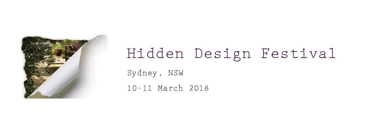 Tickets for Hidden Design Festival 2018 in Sydney from Ticketbooth