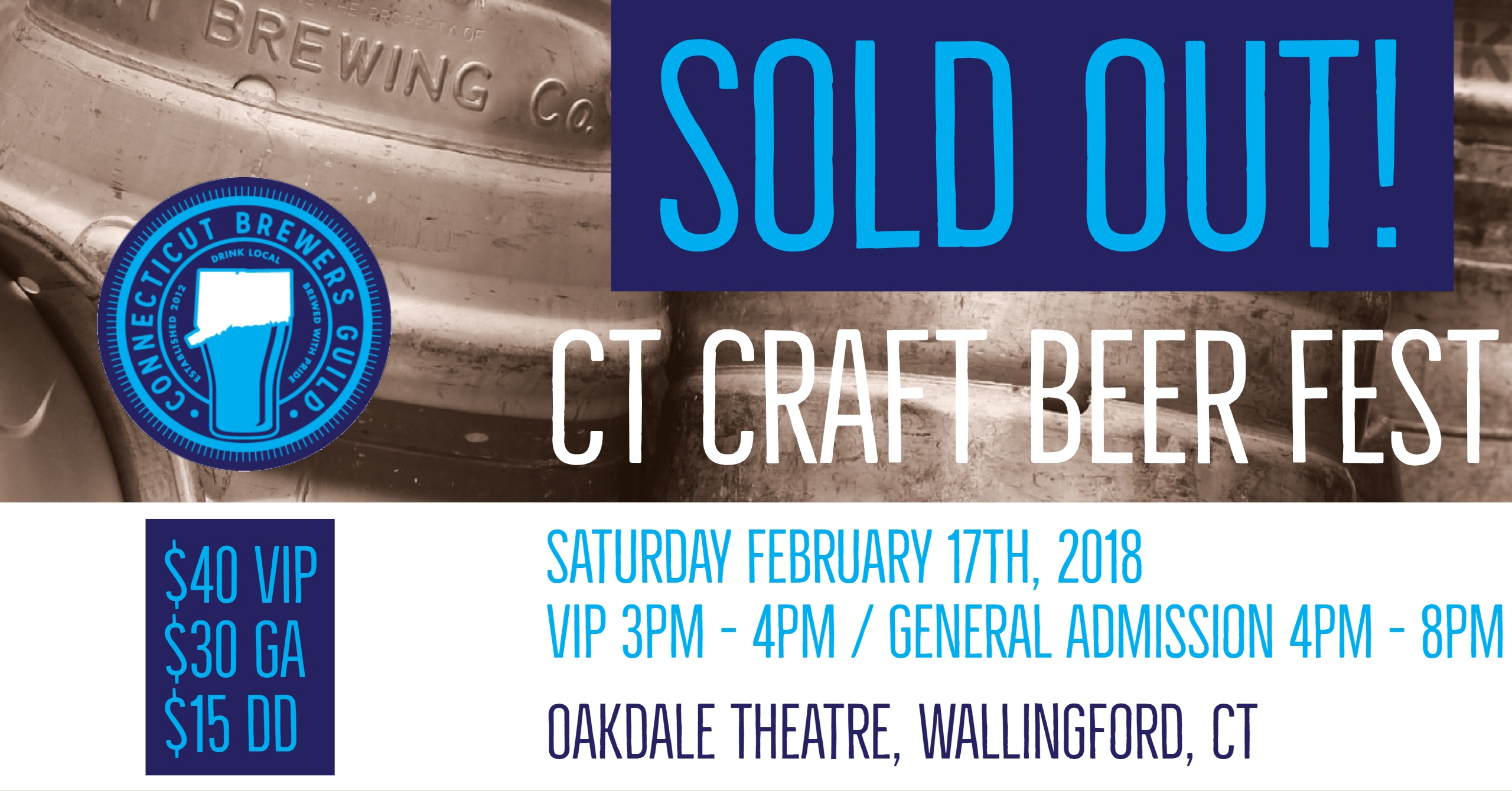 Tickets for CT Craft Beer Fest in Wallingford from BeerFests.com