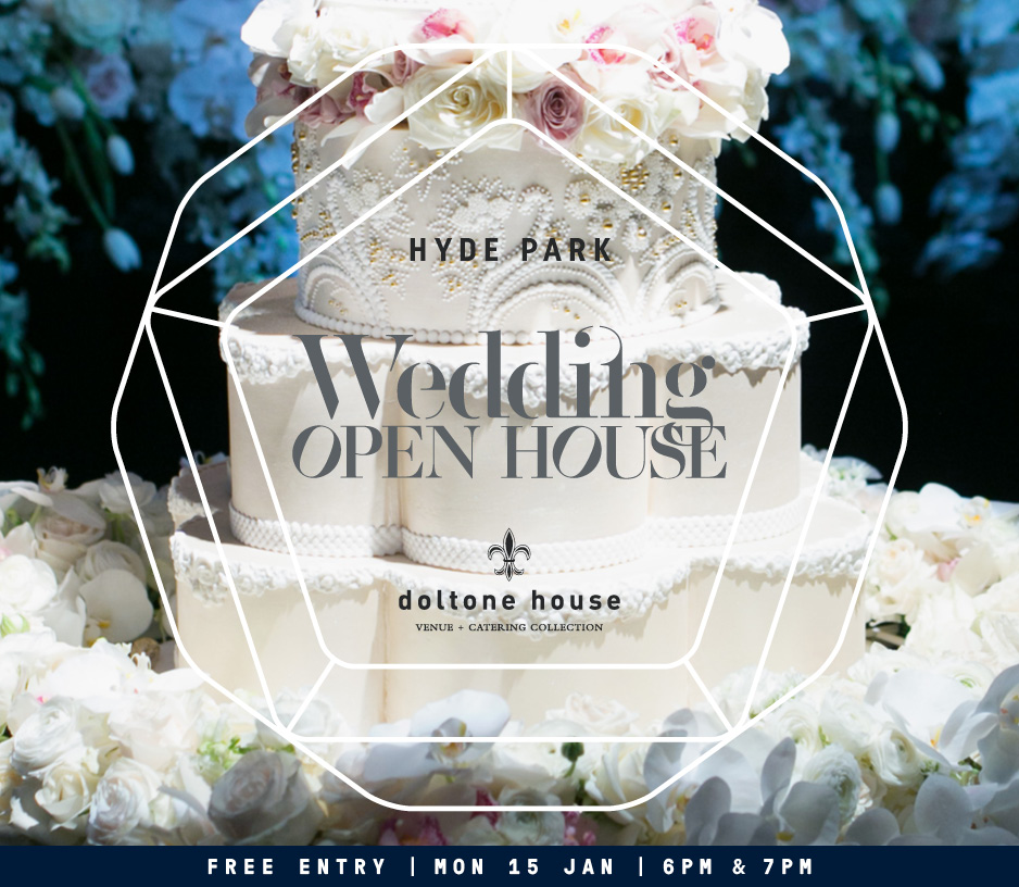 Tickets for Hyde Park Wedding Open House in Sydney from Ticketbooth