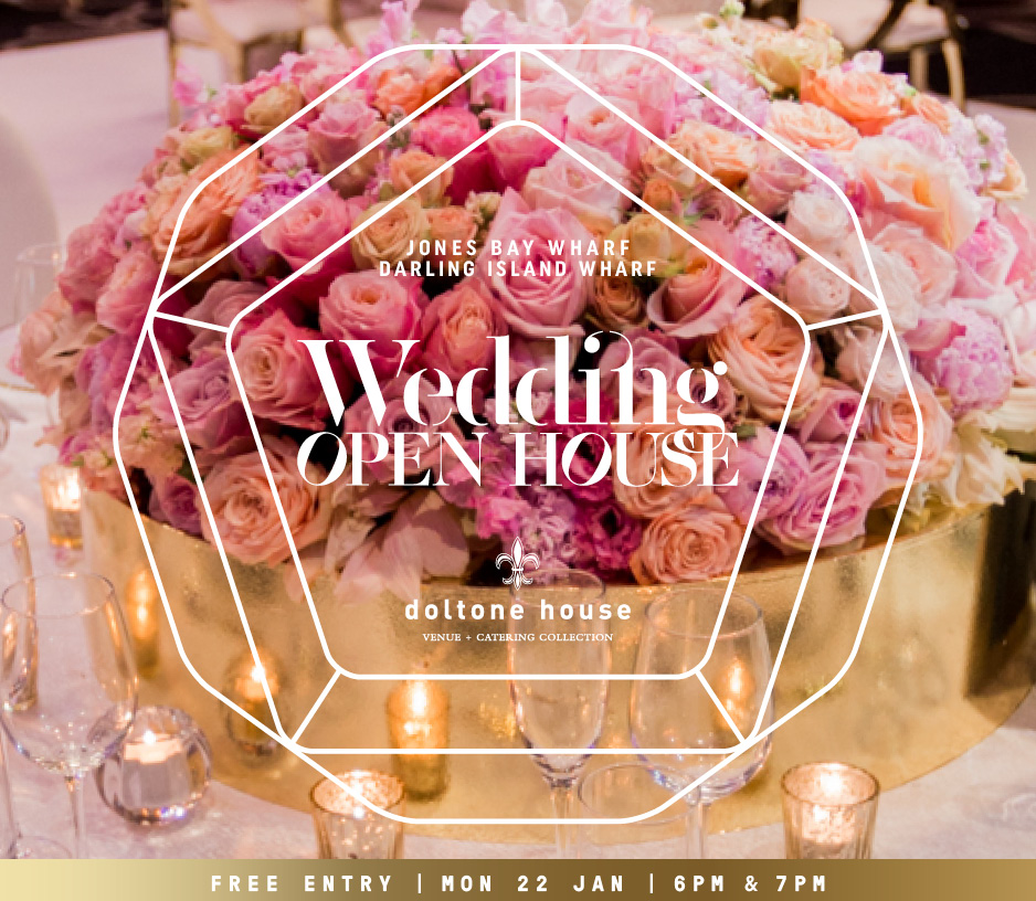 Tickets for Wedding Open House in Pyrmont from Ticketbooth