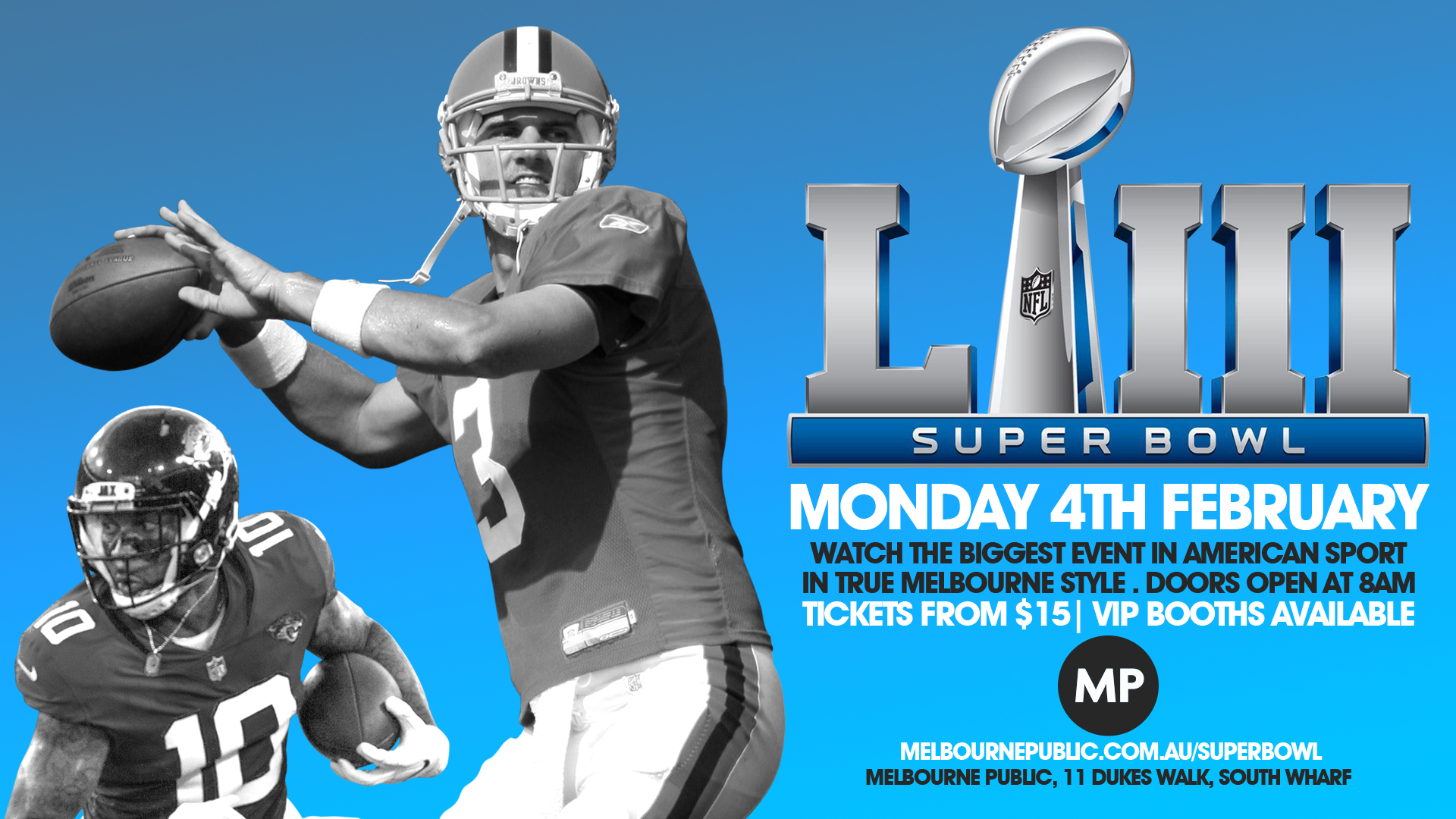 Tickets for Super Bowl 2019 in South Wharf from Ticketbooth
