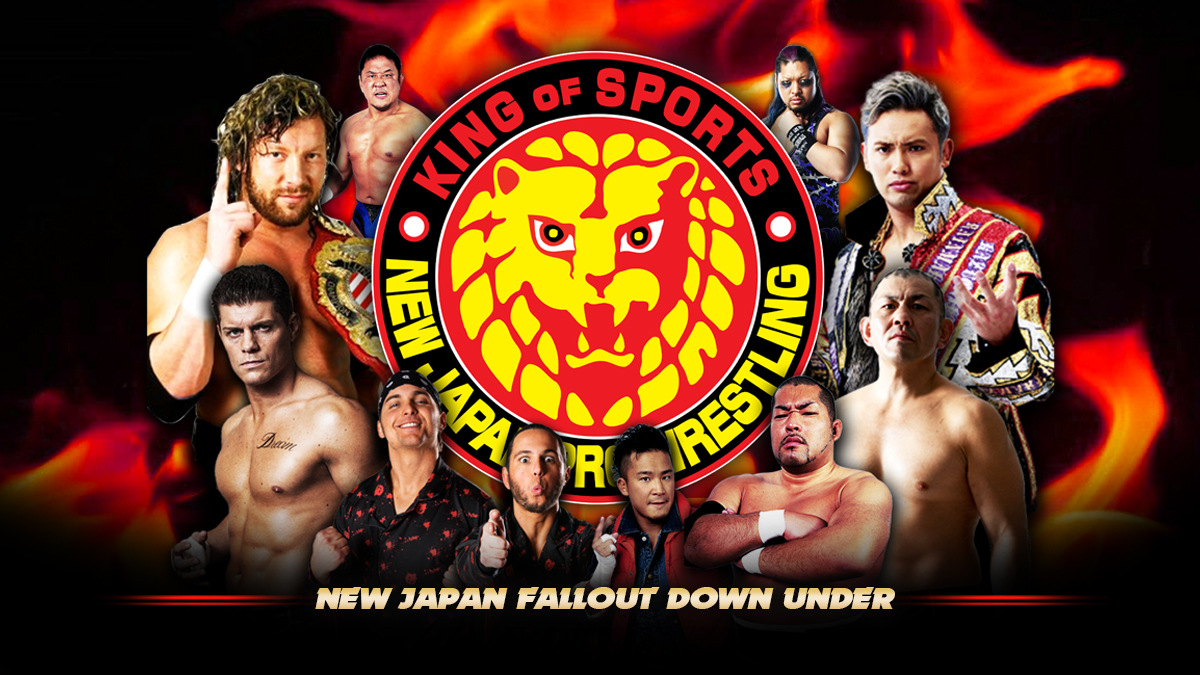 Tickets For New Japan Pro Wrestling In Sydney Olympic Park From