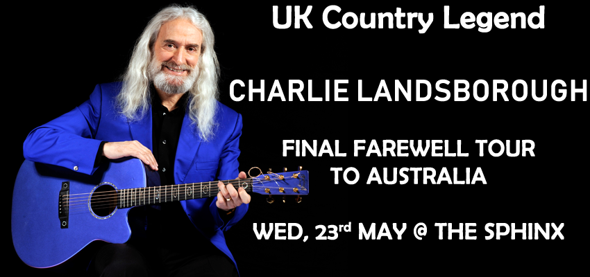 Tickets for Charlie Landsborough in North Geelong from Ticketbooth